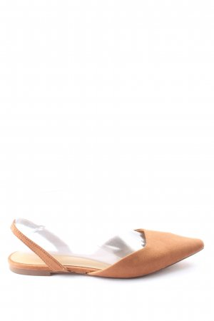 H&M Hochfront-Pumps nude Casual-Look