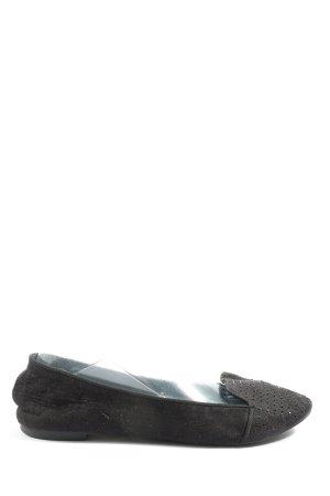 H&M Chaussure à talons carrés noir style décontracté
