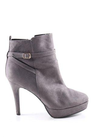 H&M Chaussure à talons carrés gris clair style d'affaires