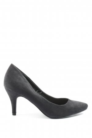 H&M Hochfront-Pumps schwarz Casual-Look