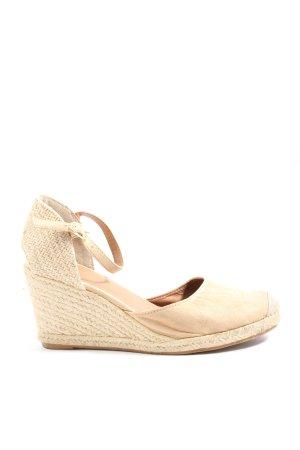 H&M Chaussure à talons carrés crème style décontracté