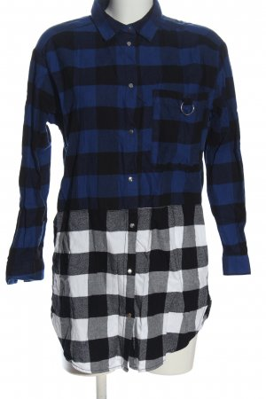 H&M Holzfällerhemd Allover-Druck Casual-Look