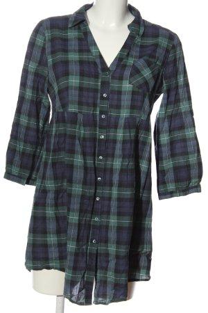 H&M Lumberjack Shirt blue-green check pattern casual look
