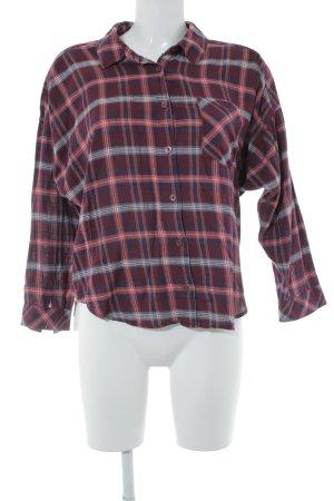 H&M Holzfällerhemd weinrot