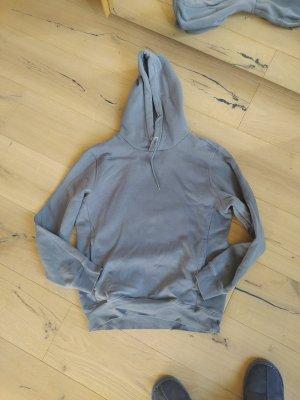 H&M Hoodie graublau taubenblau Sweat Sweatshirt Sweater Kapuze