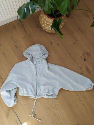 H&M Hoodie Sweatjacke Sweat Cropped Crop Pastell
