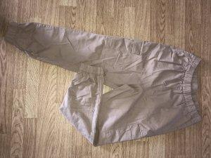 H&M Pantalon cargo beige-chameau