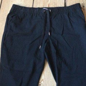 H&M Pantalon Marlene noir