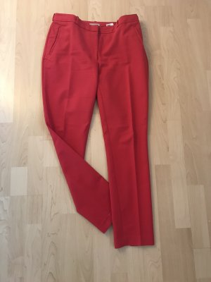 H&M Pantalone jersey rosso lampone-magenta Cotone