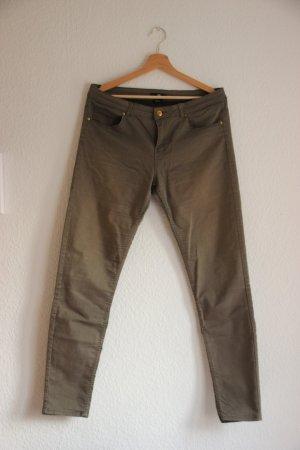 H&M Hose/jeans Khaki Casual-Look