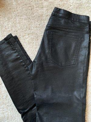 H&M Jegging noir-argenté