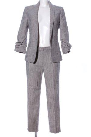 H&M Hosenanzug hellgrau meliert Business-Look