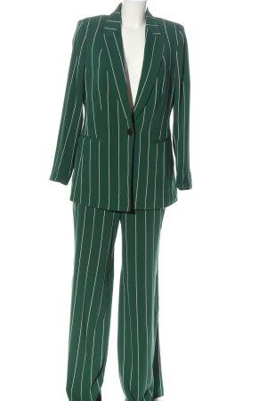 H&M Garnitur damski zielony-biały Wzór w paski W stylu biznesowym