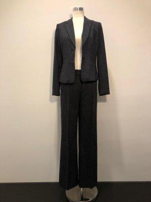 H&M Trouser Suit dark blue cotton