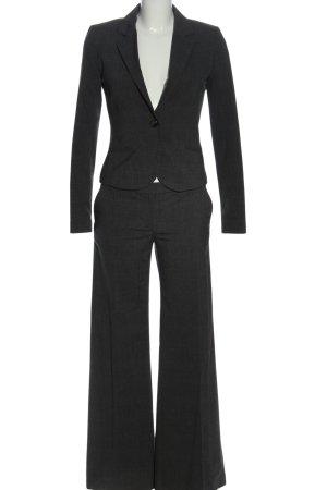 H&M Garnitur damski czarny Wzór w kratkę W stylu biznesowym