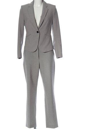 H&M Tailleur-pantalon gris clair style d'affaires