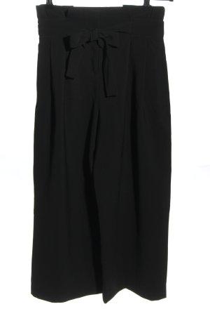 H&M Falda pantalón negro look casual