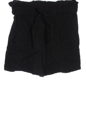 H&M Krótkie szorty czarny W stylu casual