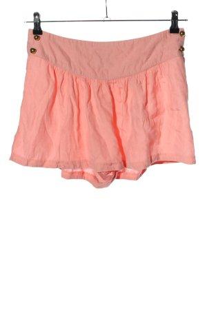 H&M Pantalón corto rosa look casual