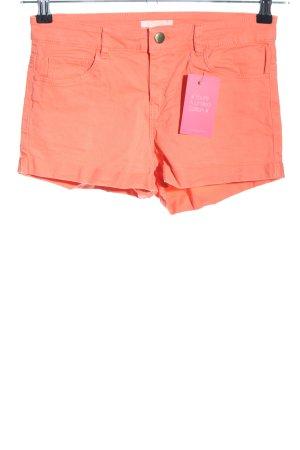 H&M Hot Pants hellorange Casual-Look
