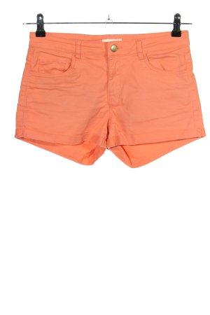 H&M Hot pants licht Oranje casual uitstraling