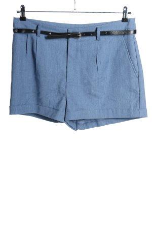 H&M Hot Pants blue casual look