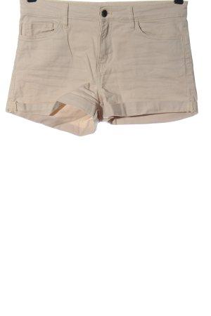 H&M Hot Pants creme Casual-Look