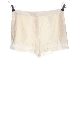 H&M Hot Pants weiß Casual-Look