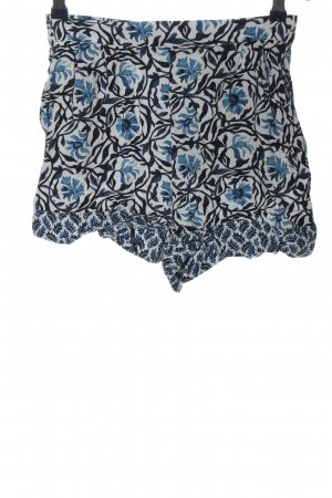 H&M Hot Pants grafisches Muster Casual-Look