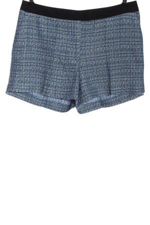H&M Hot Pants blau-schwarz Casual-Look