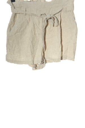 H&M Short moulant blanc cassé moucheté style décontracté