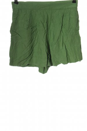 H&M Hot Pants green casual look