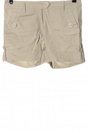 H&M Pantalón corto gris claro estilo sencillo