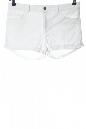 H&M Hot pants bianco stile casual