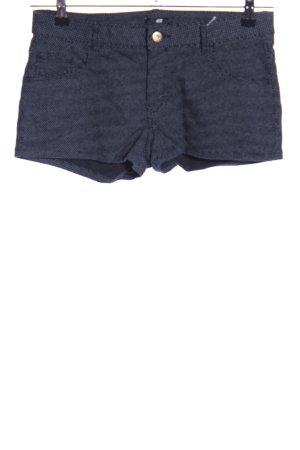 H&M Hot Pants blau Casual-Look