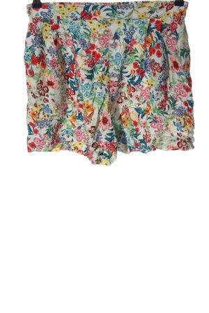 H&M Pantalón corto estampado repetido sobre toda la superficie look casual