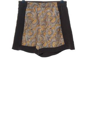 H&M Hot Pants abstraktes Muster Casual-Look