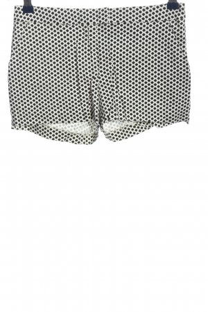 H&M Hot Pants white-black allover print casual look