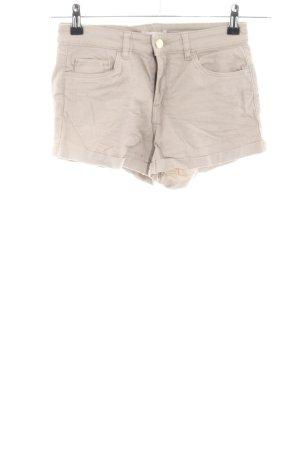 H&M Krótkie szorty w kolorze białej wełny W stylu casual