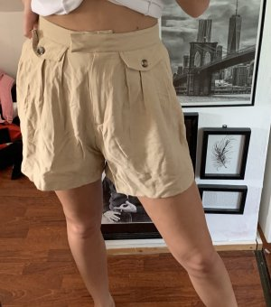 H&m Hotpants beige neu