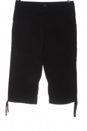 H&M pantalón de cintura baja negro estampado a rayas look casual