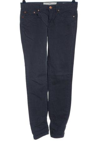 H&M Hüfthose blau Casual-Look