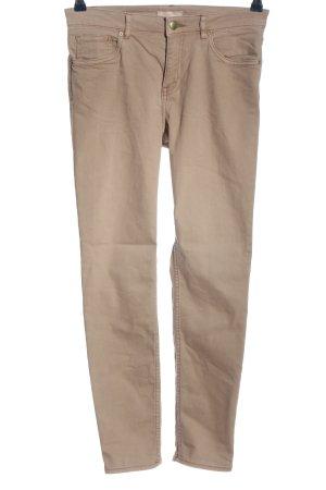 H&M Slim Jeans braun Casual-Look