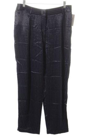 H&M Hüfthose dunkelblau-wollweiß Casual-Look
