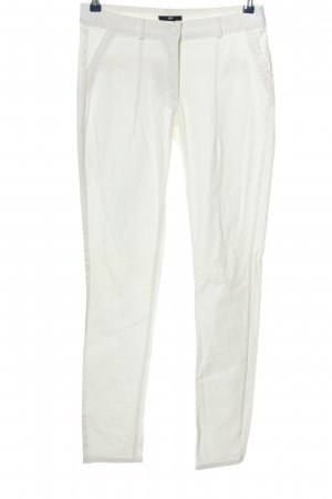 H&M Lage taille broek wit casual uitstraling