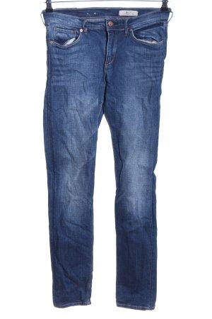 H&M Hüftjeans blau Casual-Look