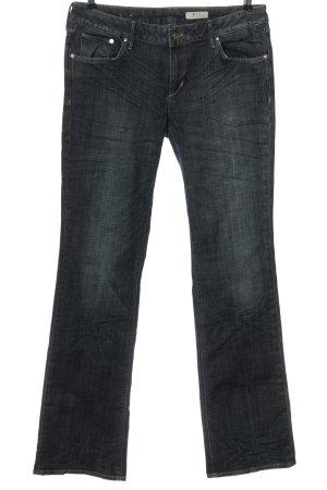 H&M Jeans vita bassa blu stile casual