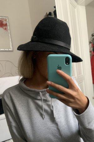 H&M Basic Chapeau en feutre noir
