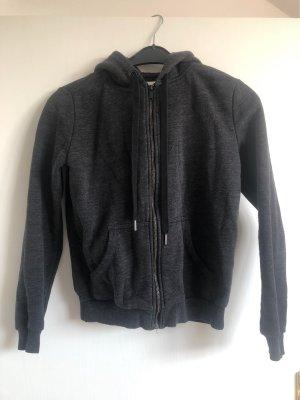 H&M Giacca-camicia grigio scuro-grigio
