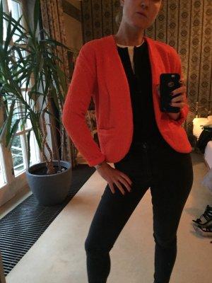 H&M Jacke Blazer orange XS - S 36-38